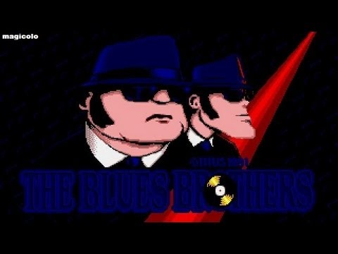 The Blues Brothers - Titus Software 1991 MS-DOS Review ITA Magicolo 2013