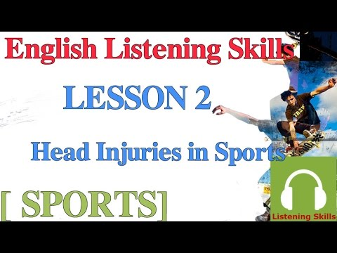 Luyện nghe tiếng Anh có phụ đề: [chủ đề thể thao] Bài 2