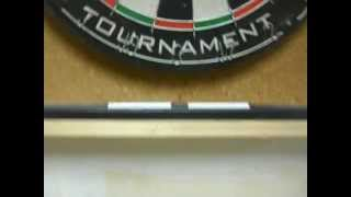 How To Make A Dart Board Cabinet!