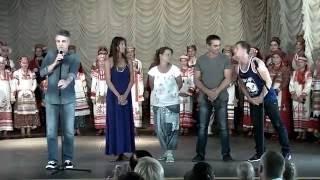 Алексей Пиманов в Севастопольском Дворце пионеров.