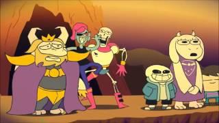 Top 5 animation undertale (Fr)