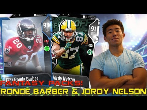 JORDY NELSON & RONDE BARBER ARE CLUTCH! Madden 18 Ultimate Team