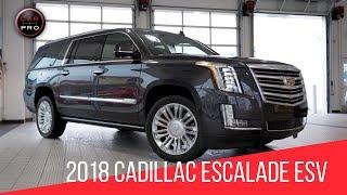 2018 Cadillac Escalade ESV Platinum Test Drive