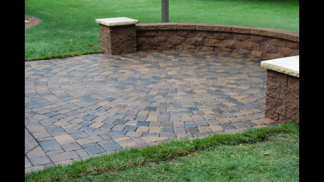 Garden Pavers Youtube