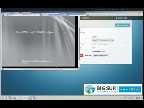 Big Sur Hybrid Mini Vault – Restore Demo - @BigSurTech