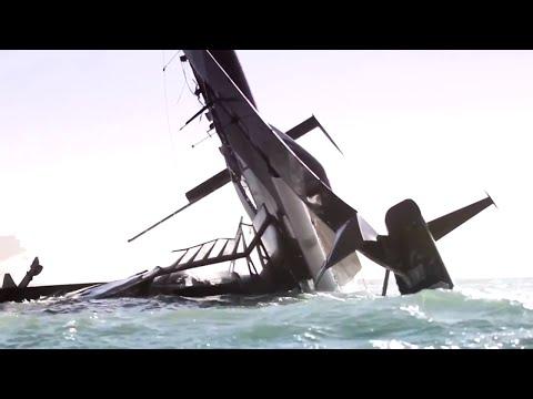 Capsizing a Multi-Million Dollar America's Cup Yacht