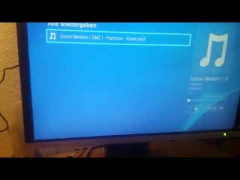 Musik vom USB-Stick auf der PS4 abspielen
