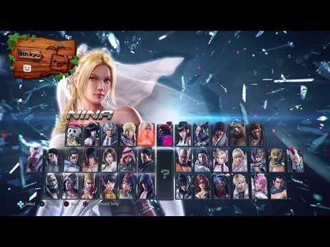 Tekken 7 PS4 Character Select