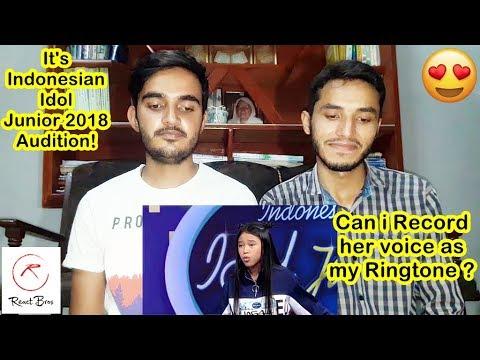 Bravo! Suara Anneth Bisa Mendapatkan Golden Tiket!  - Indonesian Idol Junior 2018 | REACTION