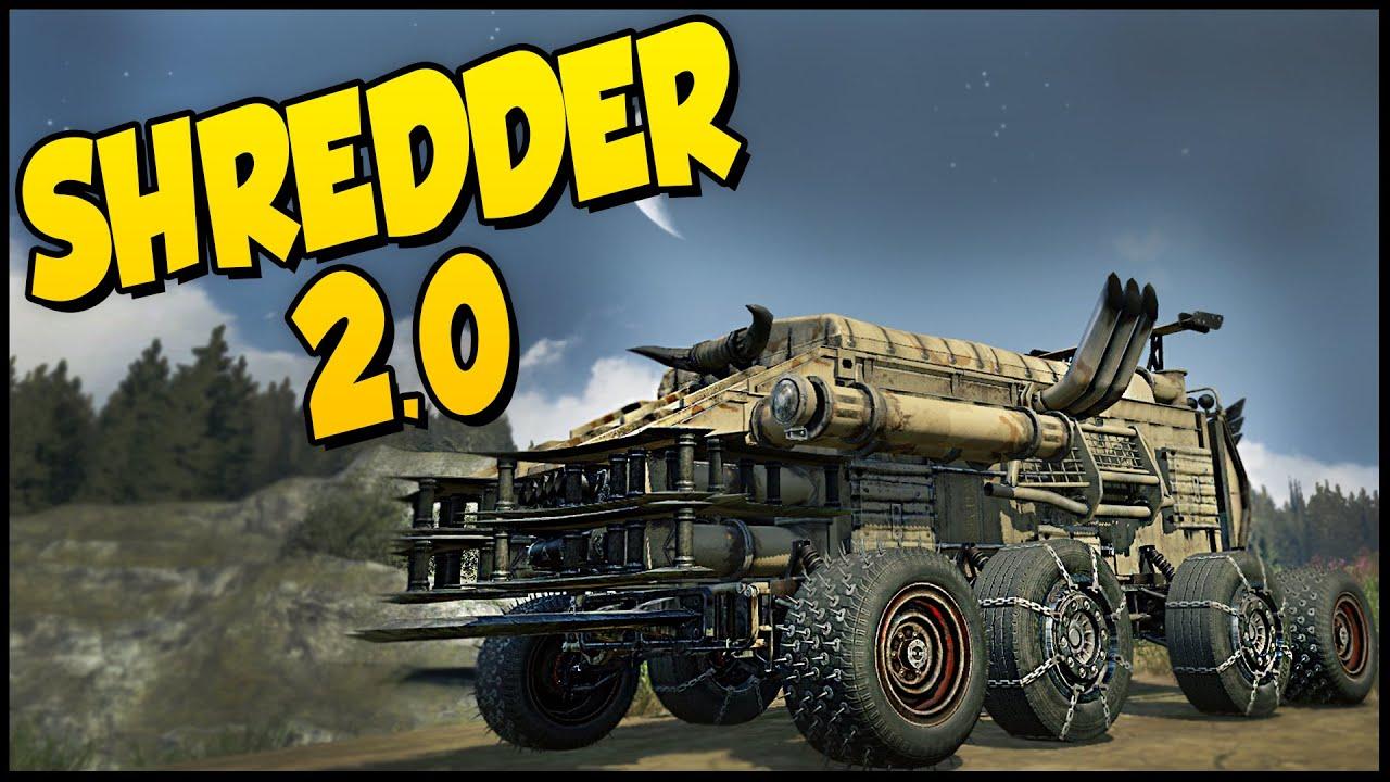 Crossout Shredder 2.0! - Cricket Launcher Buggy Build ...