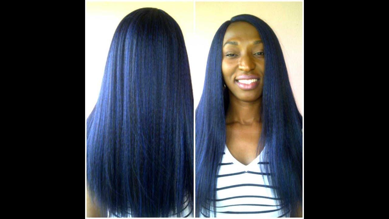blue wigs youtube