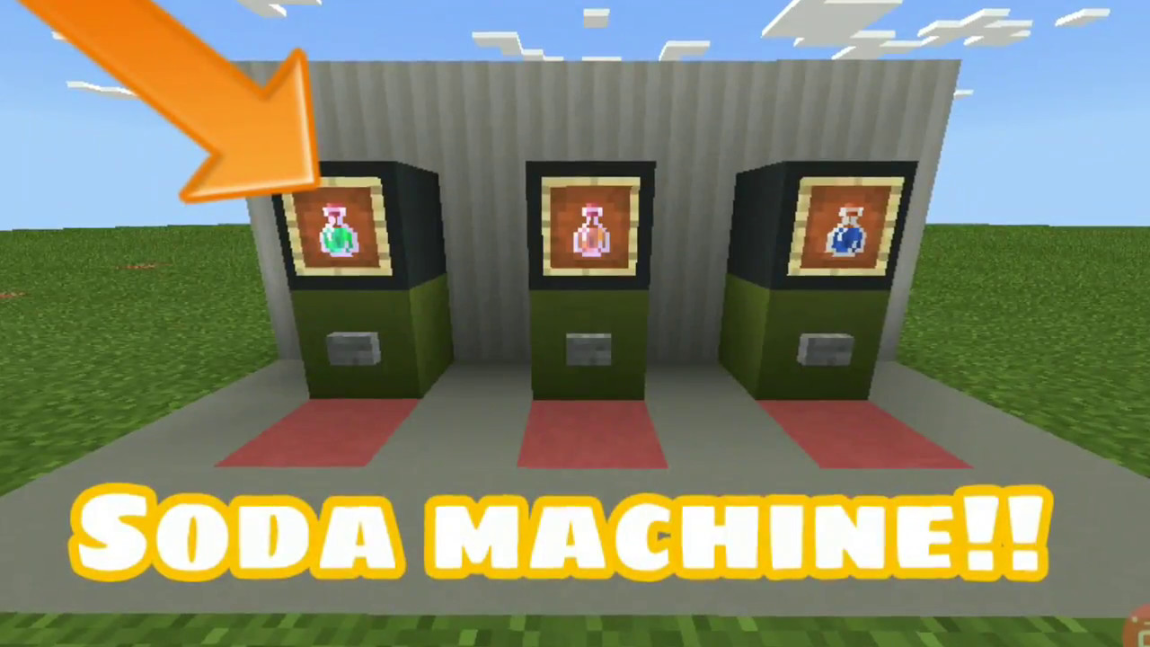 how to get a soda machine