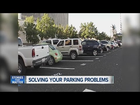 How to use math to find parking during holidays