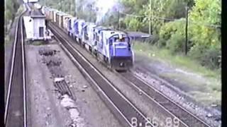 Conrail Beacon Branch, 1989
