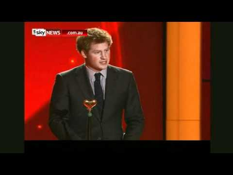 Prince Harry Berlin Award December 2010 Sky News Australia.flv