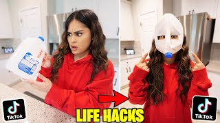 We TESTED Viral TikTok Life Hacks! **THEY WORKED!** PART 18