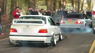 BEST-OF Modified Cars Leaving a Car Show - 2019! [Part 2]