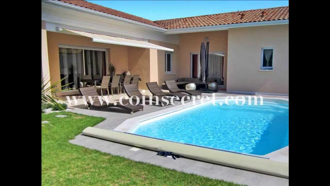 Angresse proche d 39 hossegor location d 39 une villa avec - Villa piscine privee ...