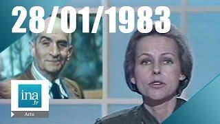 20h Antenne 2 du 28 janvier 1983, Louis de Funès est mort   Archive INA