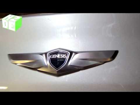 Wing Style Rear Trunk Emblem Badge For Hyundai Genesis Sedan