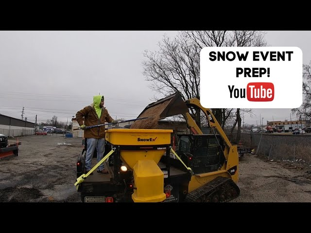Getting Ready for the First Snow Event of 2020