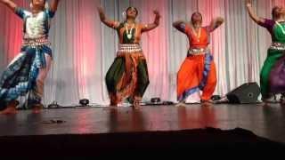 Odissi Performance 2013 BADFW Durga Puja