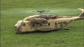 Vario Sikorsky CH-53 Super Stallion Turbine Powered RC Helicopter