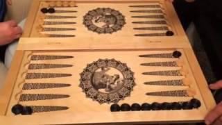 Как играть нарды- обучения