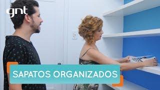 Organize seus sapatos de um jeito simples e eficiente | Organização | Santa Ajuda | Micaela Góes