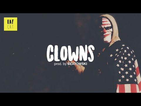 (free) Dark Old School Boom Bap type beat x hip hop instrumental | 'Clowns' prod. by BEATOWSKI