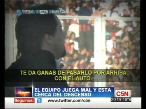C5N - DEPORTES: CARUSO EN LA MIRA