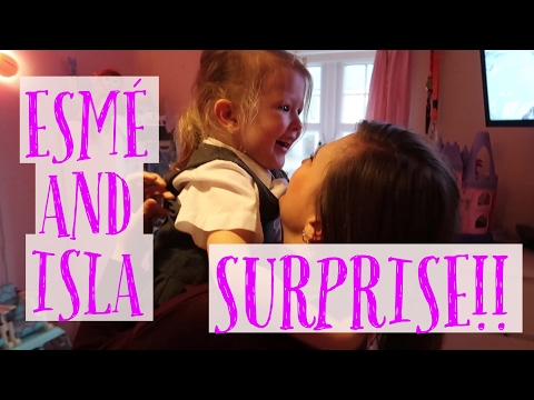 ESMÉ AND ISLA'S SURPRISE NEW BEDROOM!! | REACTING TO FAN EDITS!