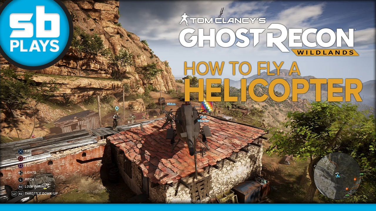 Ghost Recon: Wildlands (Open Beta) - How to Fly a Helicopter
