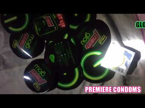 glow in the dark condom youtube
