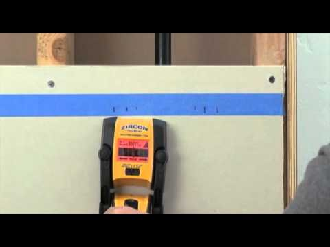 How to Use a Zircon MultiScanner i700 OneStep Stud Finder/Wall Scanner to Find Wall Studs
