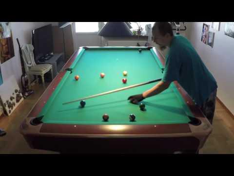 Inside Spin Draw shot (secret pro technique) advanced pool billiards tutorial