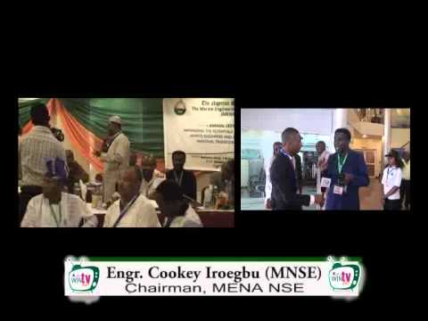 Annual Lecture - Marine Engineering & Naval Architecture Division of Nigeria - WinTV247