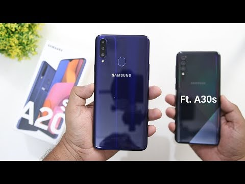 Samsung Galaxy A20s Unboxing and Review, Samsung A20s Vs A30s Comparison