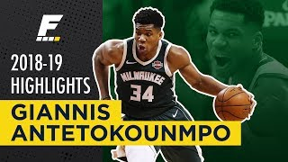 2018-19 NBA Highlights: Giannis Antetokounmpo