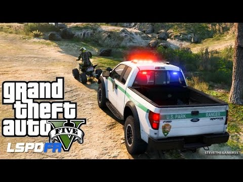 GTA 5 LSPDFR EPiSODE 106 - LET'S BE COPS - PARK RANGER PATROL (GTA 5 PC POLICE MODS)