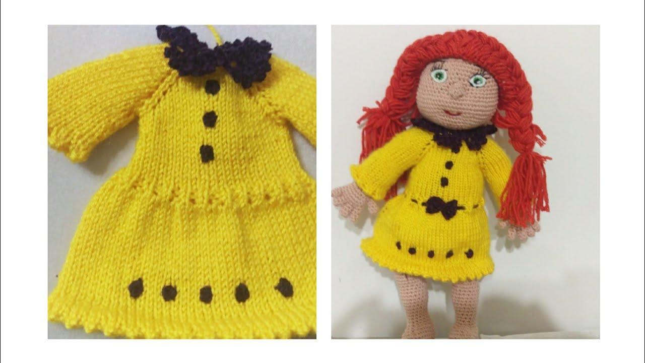 Amigurumi Bebek Elbisesi Yapılışı | Kroşe, Barbie giysileri, Bebek ... | 720x1280