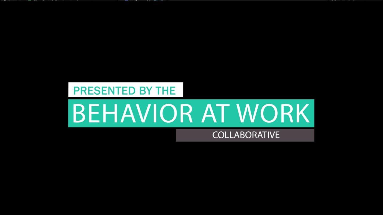 behavior at work the ideal workplace behavior at work the ideal workplace