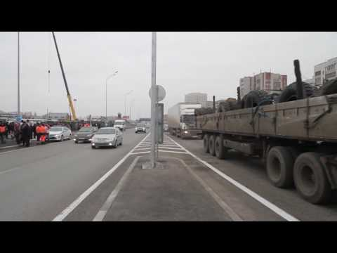 Открытие развязки Мельникайте - Федюнинского в Тюмени