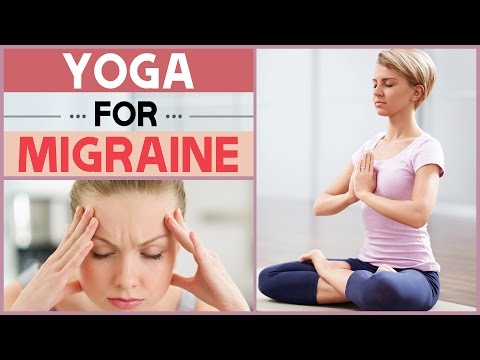 5 Yoga Poses For Migraine Pain Relief | Headache