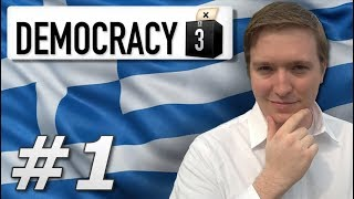 Democracy 3 | Max Difficulty Greece - Year 1