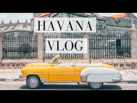 Vintage Cars in Havana?! Cuba Vlog   Travel in Your Twenties