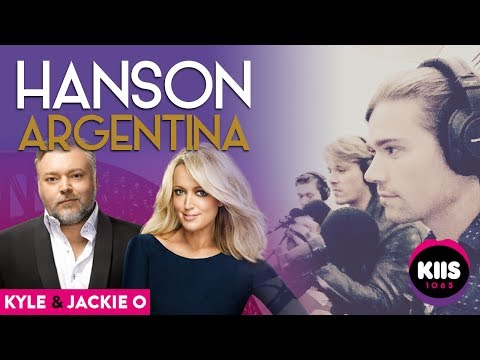 [AUDIO] Hanson with Kyle and Jackie O (2017) - KIIS FM 106.5 - Sydney, AUS