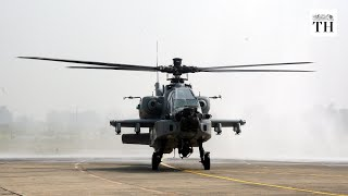 Eight U.S.-made Apache attack helicopters inducted into IAF