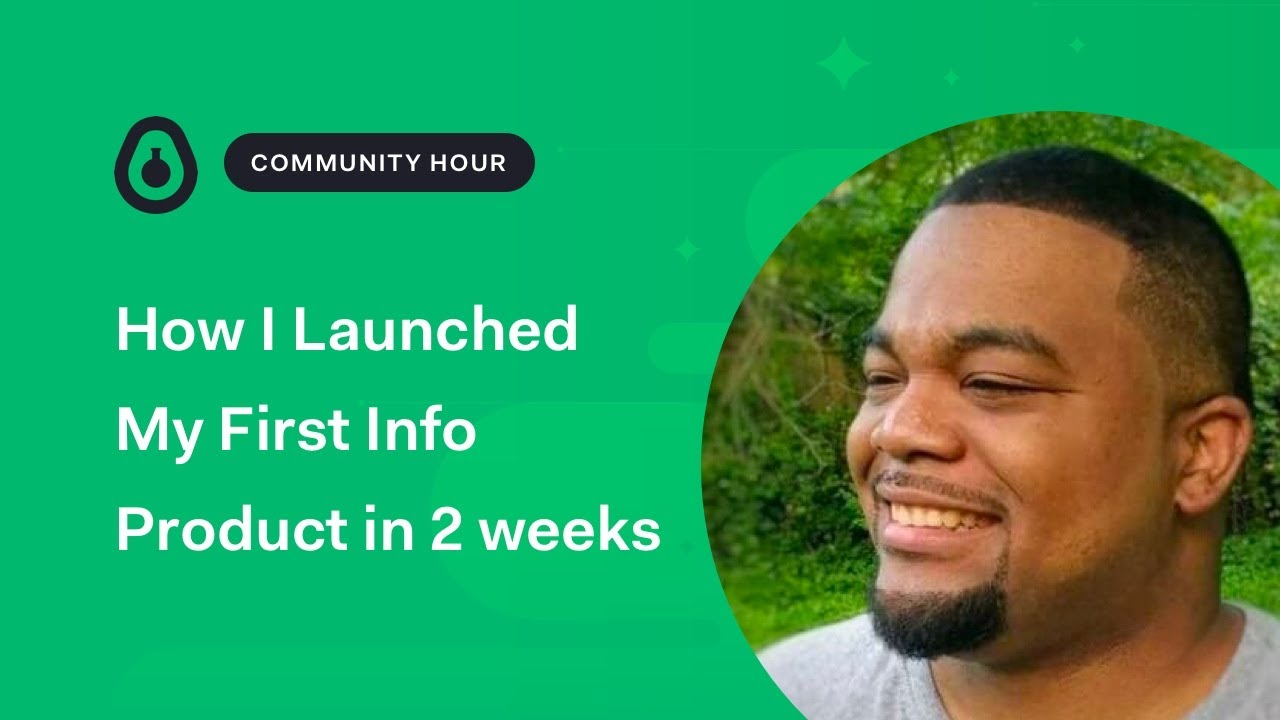 How Will Launched his First Info Product in 2 weeks