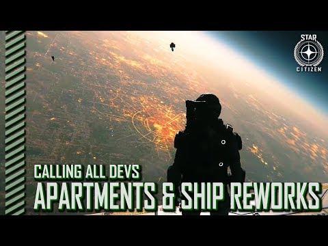 Star Citizen: Calling All Devs - Apartments, Decompression and Ship Reworks